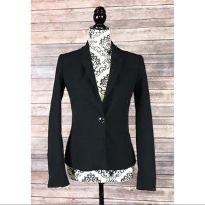 Zara blazer one Button front jacket size 2 Career